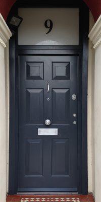 Beautiful English Doors with Glazing Security Level 2
