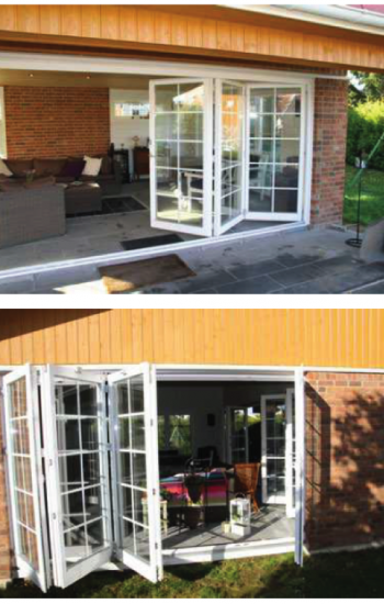 Bi-Fold Aluminum Garden Windows
