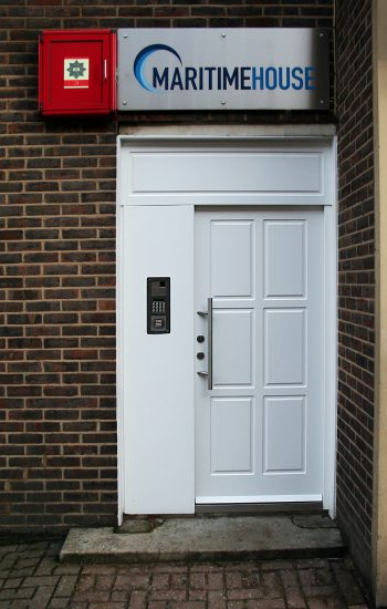 Communal Business Entrance Doors Security Level 2 with Electric Lock