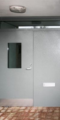 Council Property Communal Entrance Doors Security Level 2