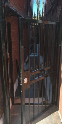 Gates for a Side Entrance