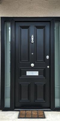Georgian Style Doors with Glazing Level 2 Security