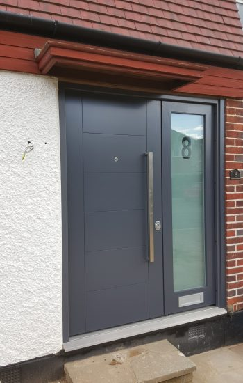 Modern Doors for a House with Glazing Security Level 2