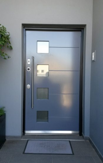 Modern Security Doors with Finger Scan Security Level 2