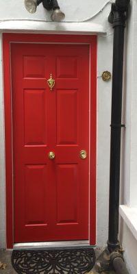 Red Security Doors Level 2