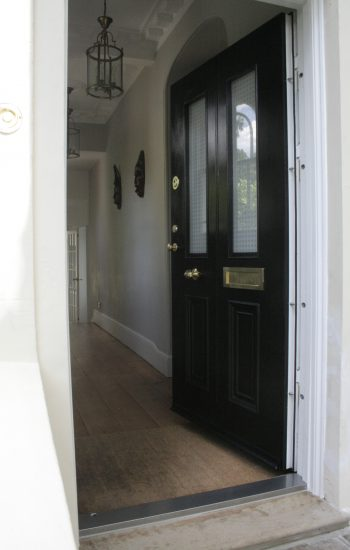 Replicated Level 2 Security Doors with 2 Double Glazed Windows