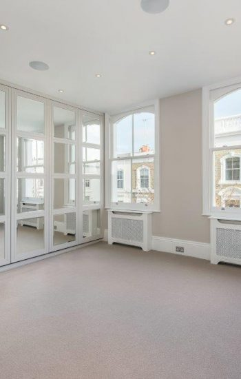 Sash Windows of a Newly Refurbished Apartment