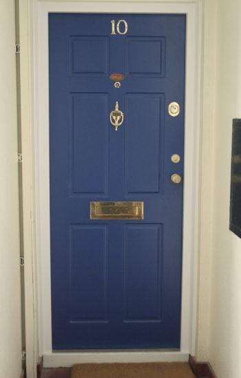 Standard Doors RAL 5015 Level 1 Security