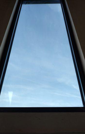 Big Aluminium Window Fixed Black Frames