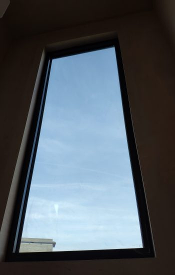 Big Aluminium Window RAL 7016