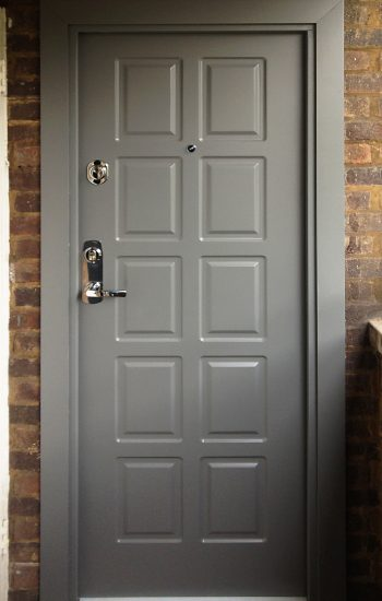 Security Doors Level 1 Ex Council Flat