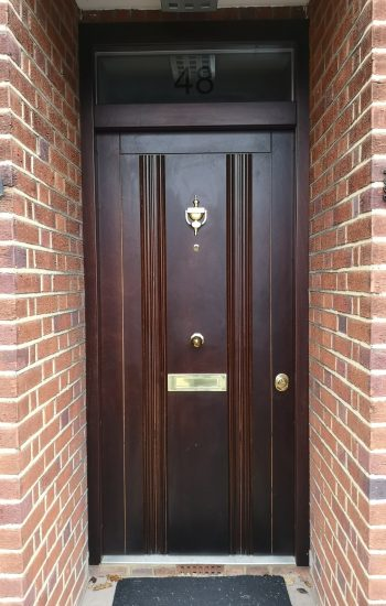 Security Doors Level 2 Okoume Finish