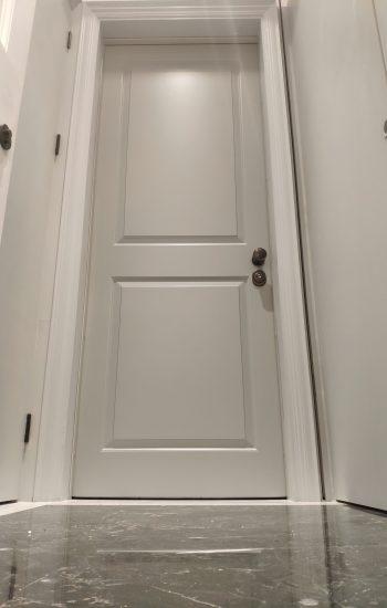 Bespoke Colour Security Doors Installed in Chelsea