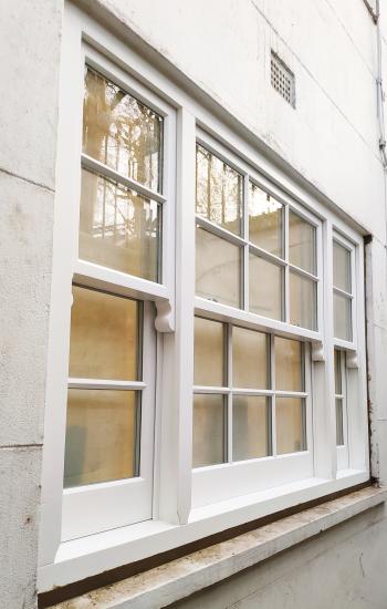 Triple Sash Timber Window Installed in Kings Cross