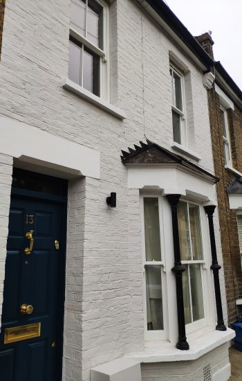 Wooden Sash Windows Installed in East London