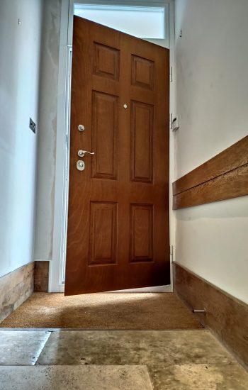 Okoume Finish 6 Panel Security Door