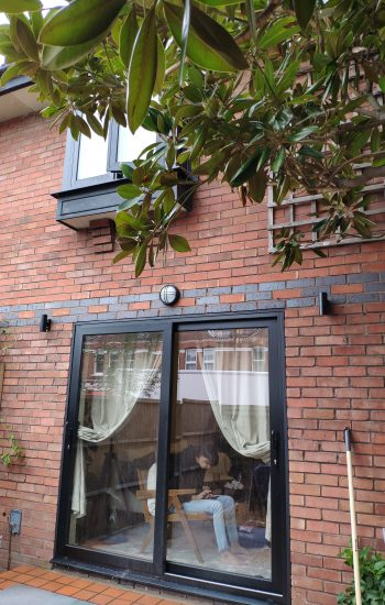 Aluminium Sliding Doors and Casement Window 1st Floor