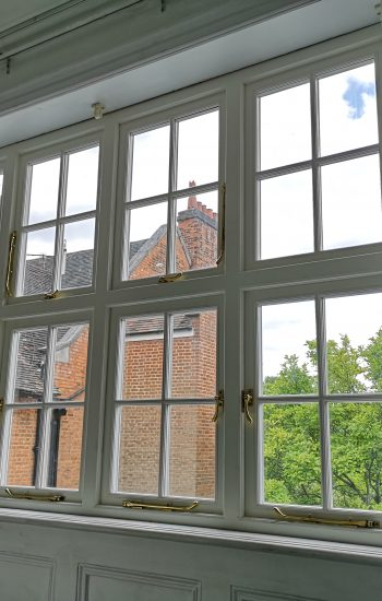 Replicated Heritage Casement Window with Traditional Window Furniture