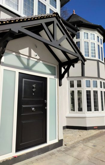 Beautiful Traditional Security Doors Installed in Romford
