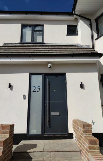 Modern Design Security Doors No25
