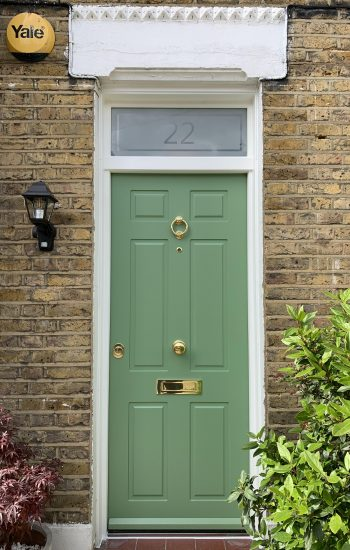 Traditional Security Doors with Sandblasted no 22